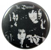 The Damned - 'Group Black & White' Button Badge